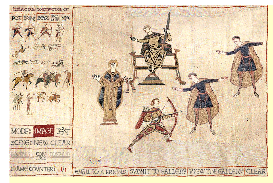 Historic Tales – Make your own Bayeux Tapestry