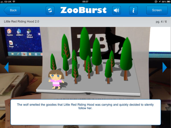 Zooburst iPad App – 3D Storybooks with extra Augmented Reality
