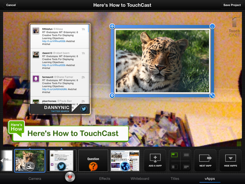 Create Interactive Video Presentations with the Touchcast iPad app