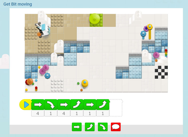 Using Lego to Support Coding : Bits and Bricks and Other Ideas