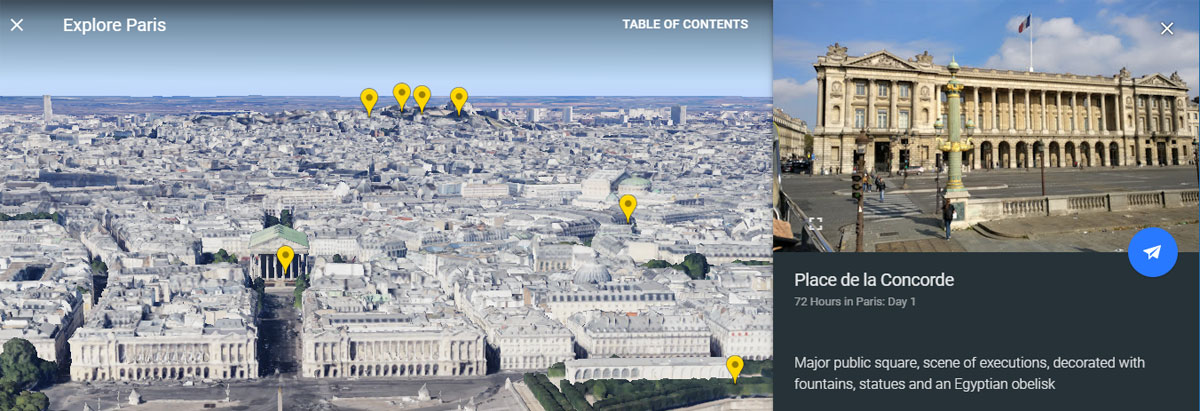 Take a Voyage with Google Earth's Guided Stories